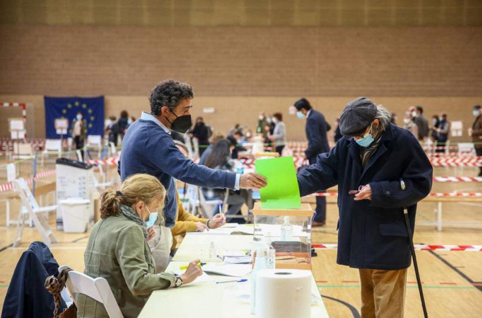 La tecnología berciana de sensores de aire, al servicio de los votantes madrileños